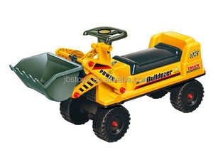 New Style Kids Excavator Ride on Car Toy with Trailer TE14090002