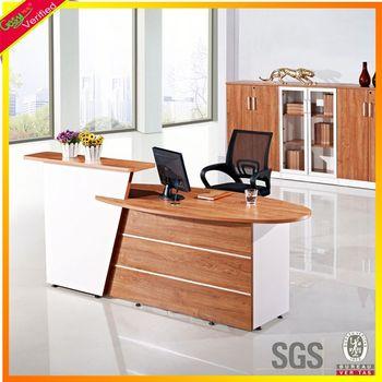 fashionable office front desk counter,modern office reception desk