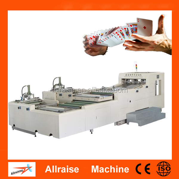 Automatic poker making machine