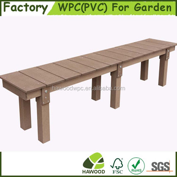 Outdoor High Quality Wood Plastic Composite Wood Pvc Park And