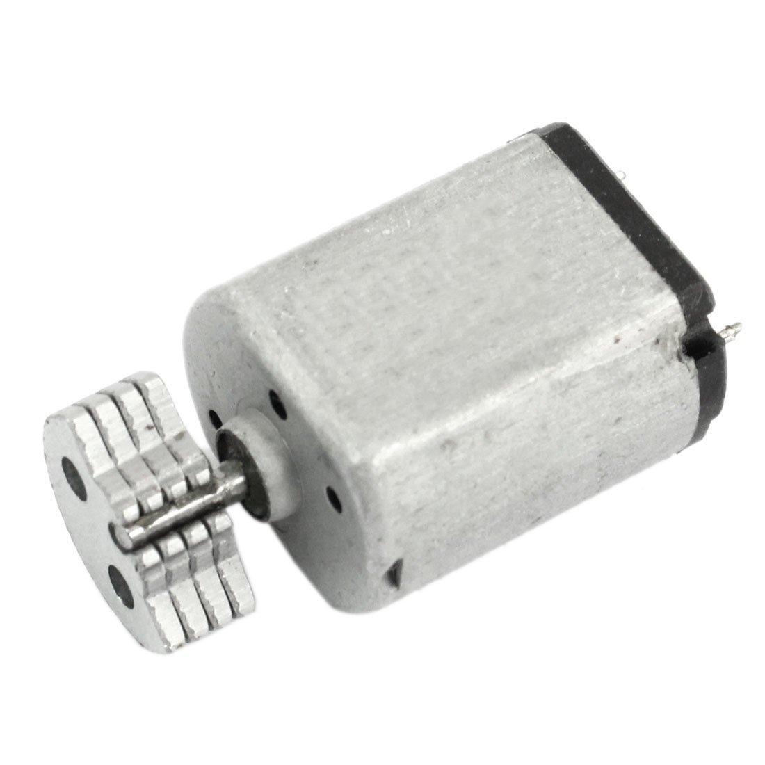 3200RPM DC Vibration Motor - TOOGOO(R) DC1.5V-9V 0.08A 3200RPM Output Speed Micro Vibrating Motor, 18x15x12mm Silver