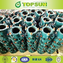 wholesale ducitile iron pipe fittings flange adaptors