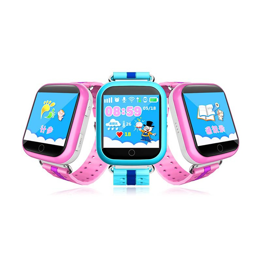 Hot sell Q50 q60 Q80 Q90 Q100 remove alert gps wrist watch for kids