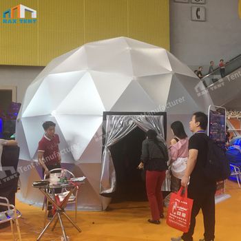 6m small projection tent 360 geodesic projection dome for cinema theater air dome prices