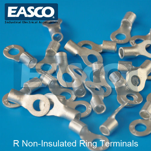 Easco Tinned Copper Naked Uninsulated Ring Terminal - Buy