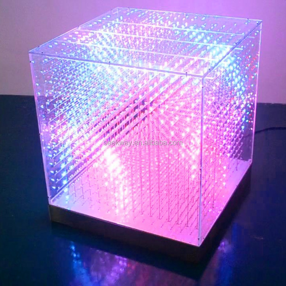 Seekway Full-color Dmx 3d Led Cube Rgb For Indoor Laying