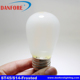 2W 3.5W ST45 S14 led filament light with frost glass cover AC85-265V 12V 24V 48V