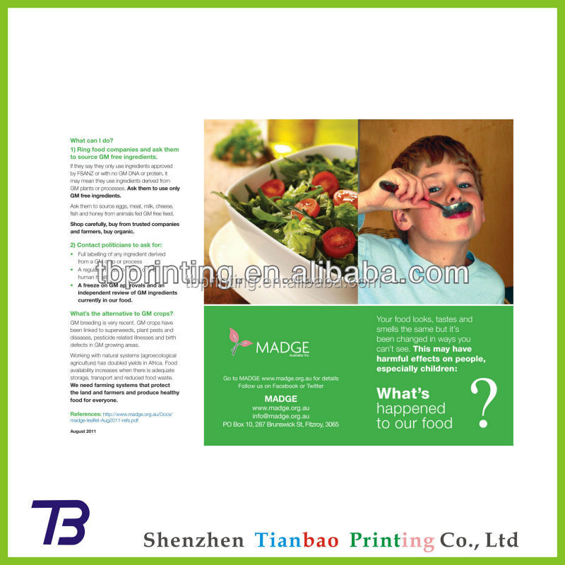 China Suppliers Cheapest Pharmaceutical Leaflet Printing