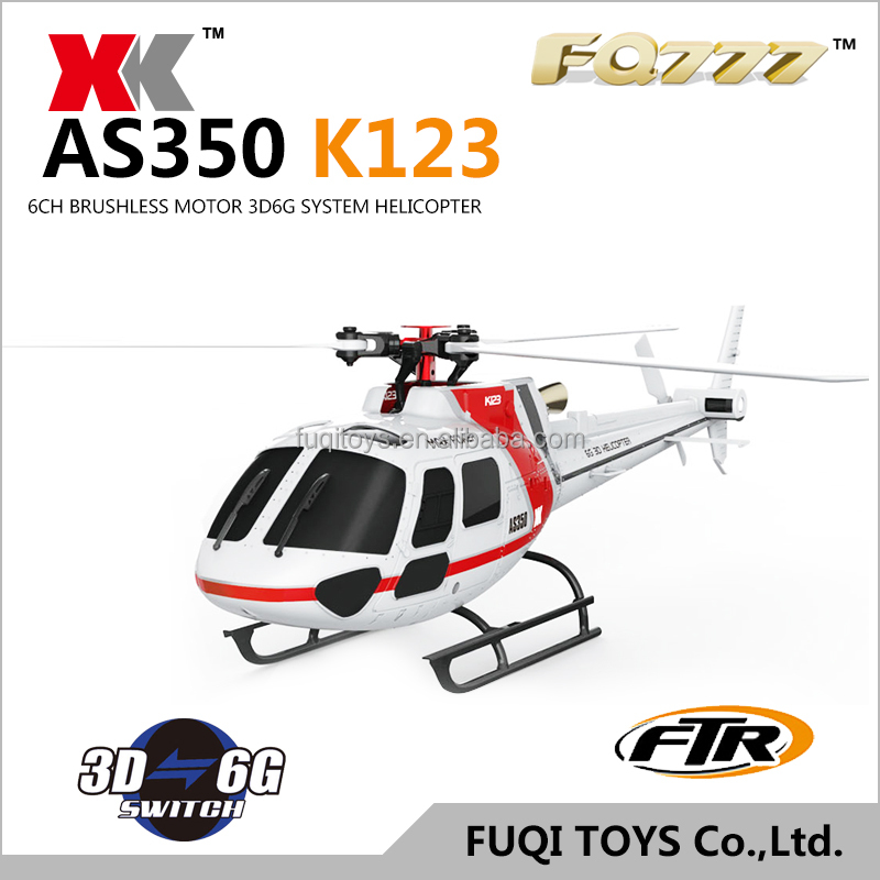 Original Wltoys V931 6CH Flybarless 3/6 Axis Gyro 3 Blade AS350 Scale RC Helicopter BNF