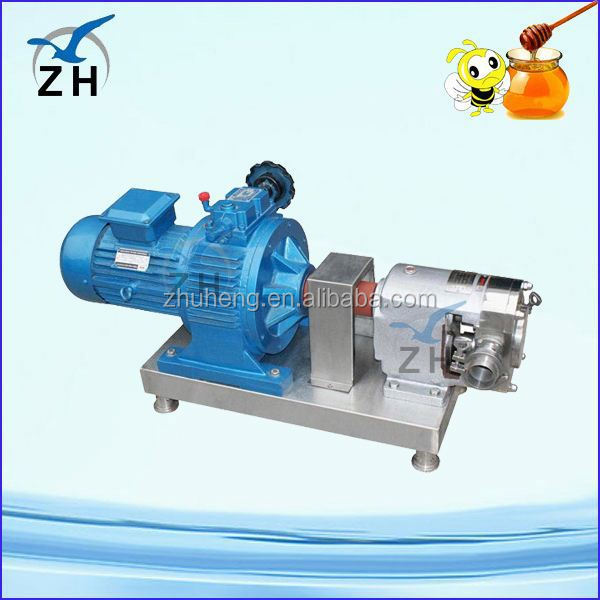 Food process stainless steel crude oil transfer rotary gear pump