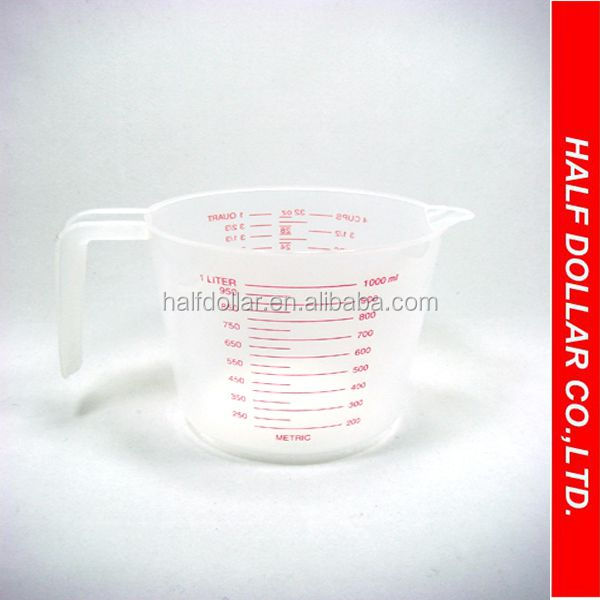 Plastic 1000ml Measuring Cup, Plastic 1000ml Measuring Cup Suppliers And  Manufacturers At Alibaba.com