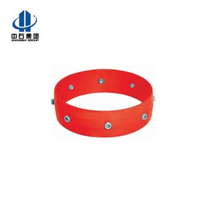 Slip-On Set Screw Stop collar ring for casing centralizer with Beveled Edge and Accessory Hinged Spiral Nail Stop Collar