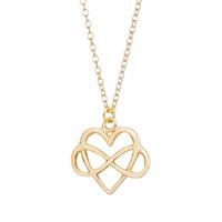 2016 latest modern Heart love silver scorpion pendant 1 gram gold necklace