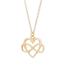 2016 latest modern Heart love silver scorpion pendant 1 gram gold necklace