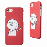 3d Blank Sublimation Hard PC Material Phone Case Custom Logo Cartoon Printed Case for a37