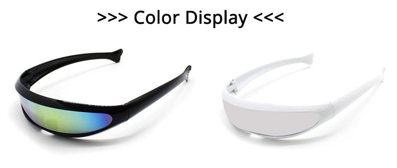 Bien connu Deal With It Sun Glasses One Piece Sunglasses Men Women Black Bar  AE06