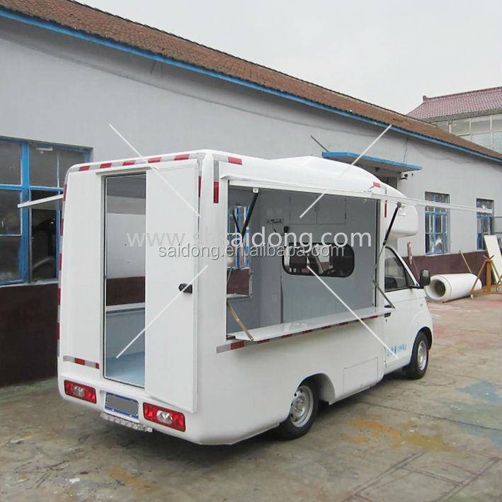 Hot Mobile Food Van For Sale Mobile Catering Food Van