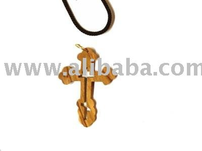 Olive wood russian orthodox cross pendant 14h buy cross olive wood russian orthodox cross pendant 14h buy cross pendant product on alibaba aloadofball Images
