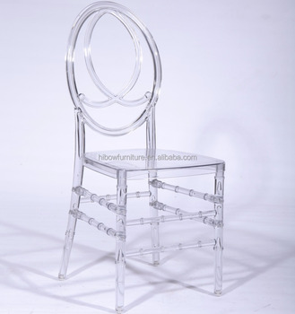 china wholesale wedding and event acrylic chairs resin phoenix