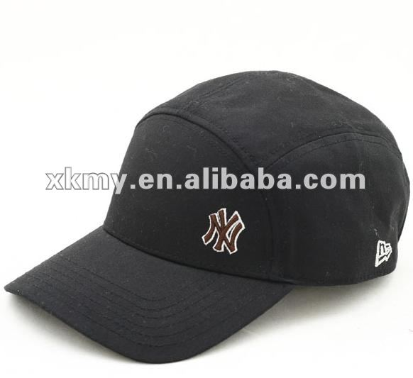 2012 new style black 5 panel sports caps