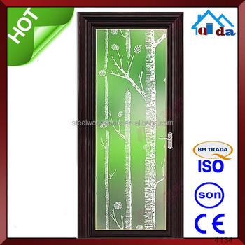 Aluminium Bathroom Doors Design Powder Coated Alloy Door Bd - Bathroom doors waterproof