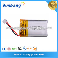 Customized flexible lipo 3.7v 250mah force battery pakistan