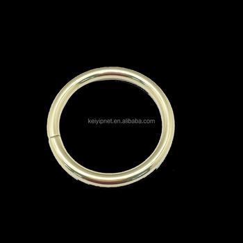 Decorative Metal Handbag O Rings Metal O Ring For Bags D Ring For ...