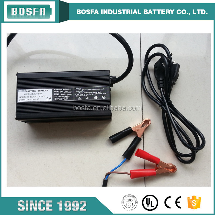 wholesale 12 volt 20 a charger powered lead acid battery