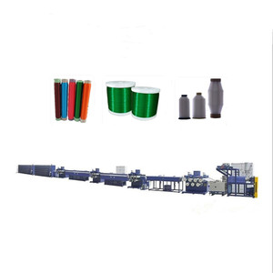 farm fence electric poly rope/ wire/ webbing pp pe monofilament extruder machine/ mono filament extrusion production line