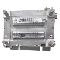 ABS plastic injection dies 738h plastic mould steel injection mold base