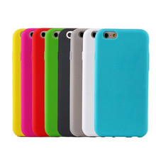 OEM mobile phone cover,simple design silicone case for iphone 6 6s 7