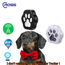 2017 Alibaba hot selling cheap price custom Logo 3G wifi mini pet dog cat gps tracker with Build in GPS Antenna and waterproof