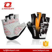LAMBDA Motocross Cycling Gloves Half Finger Gel Bicycle gloves