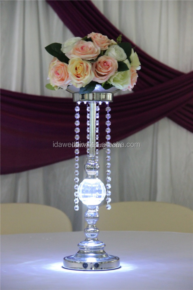 water beads with lighting centerpieces/wedding event decoration center pieces/led centerpiece wedding decoration
