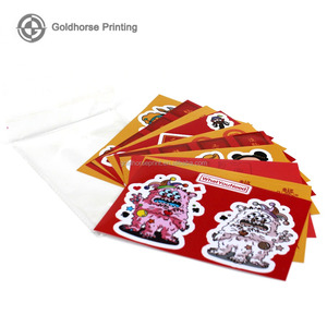 Customized fast food trademark WeChat QR code 500 goods in stock currency model product certificate tag copperplate paper print