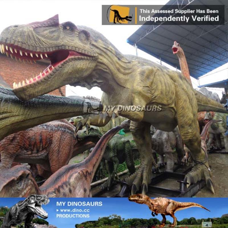 Dinosauro gigante di animatronic del grande dinosauro del robot
