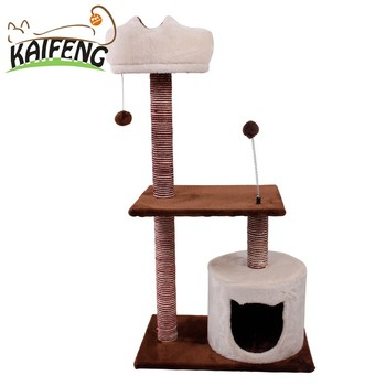 Strange Cat Furniture Scratching Post Brown Luxurious Style Pet Home Interior And Landscaping Synyenasavecom