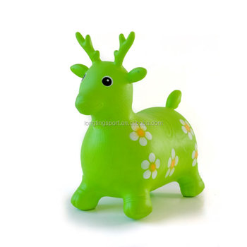 73464c51cc2 Hopper Horse Bouncing Inflatable Animal Deer Shape Toys - Buy ...