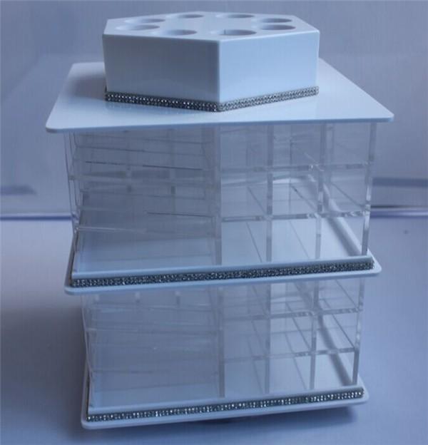 de nouveaux produits personnalisés 80 slots acrylique rotation