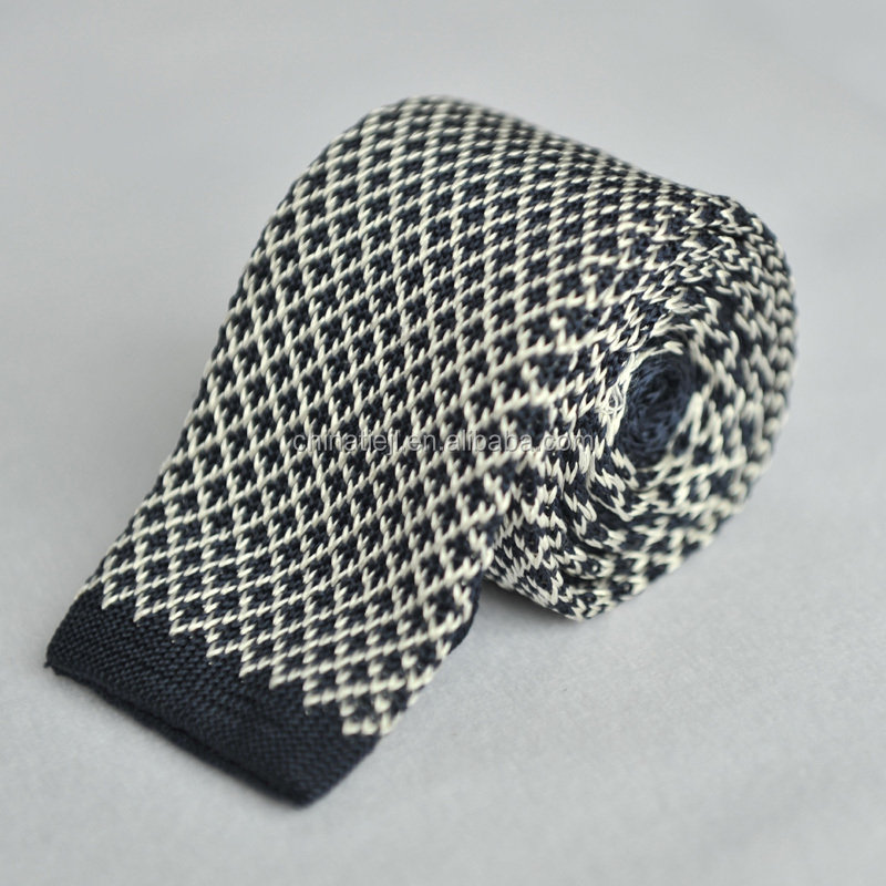 Shengzhou Factory Supplier Popular Causual Custom Knitted <strong>Tie</strong>