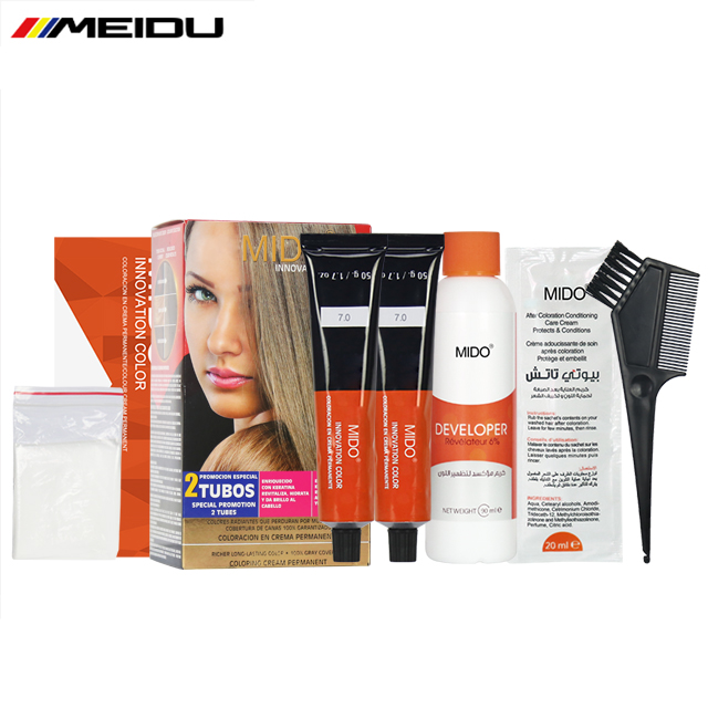 Guangzhou Professional Hair Color Brands Oem Factory Whole Best Natural Cover Grey Home Use Permanent