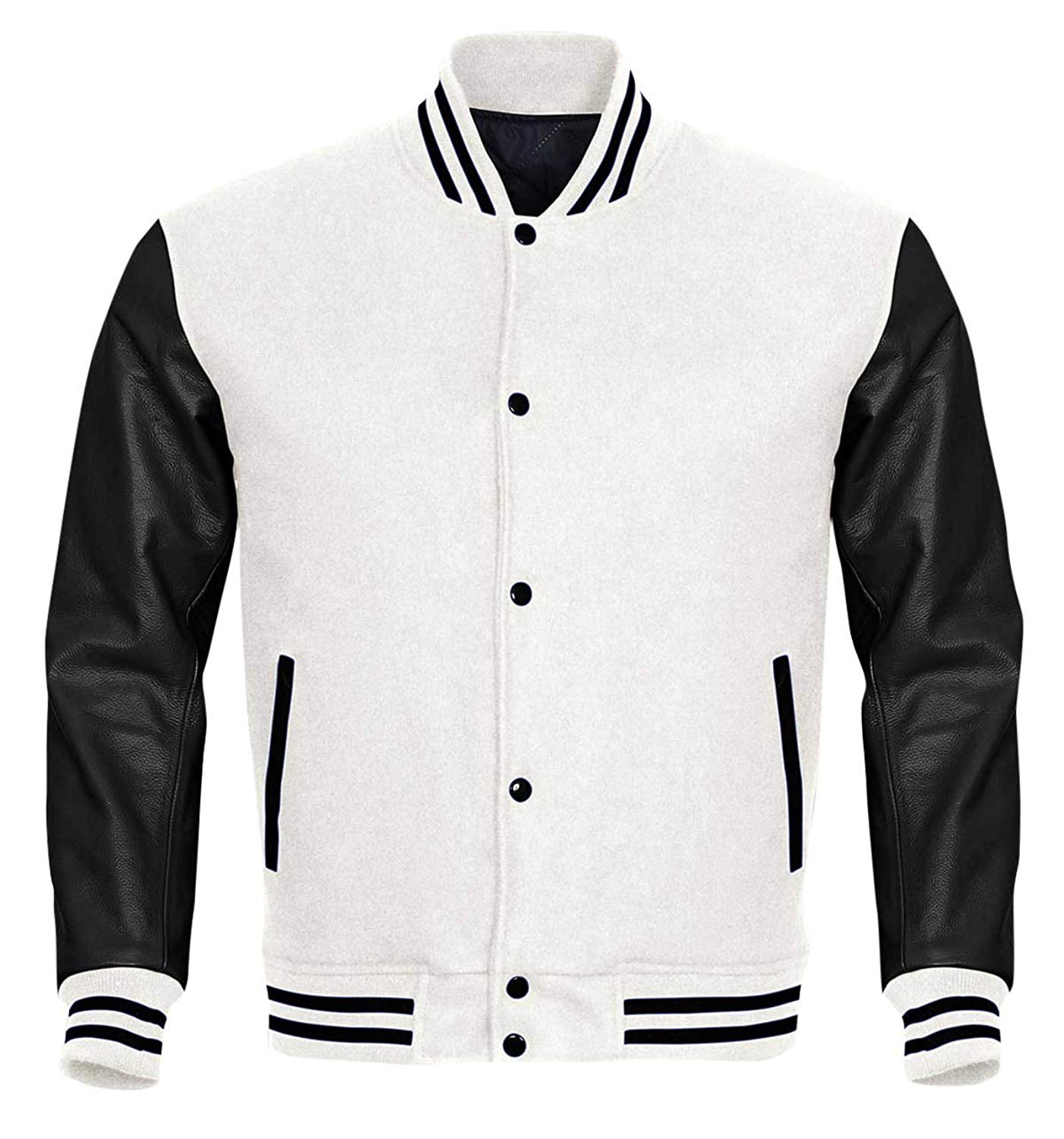 Cheap Mens Varsity Jacket With Leather Sleeves, find Mens