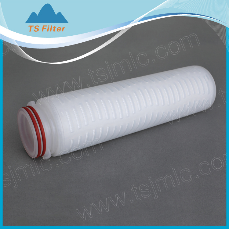 100% Integrity Test Absolute Rate 0.45 Micron Hydrophilic PVDF Filter Cartridge 20 Inch