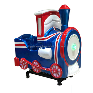 MIYING blue train playing video games kiddie rides china amusement park rides