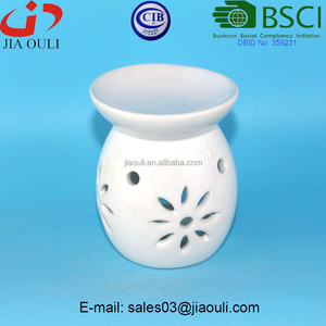 BSCI Audit Factory Cheap Tea light oil burners Ceramic oil burner