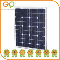 New Design chinese Monocrystalline solar panel for home system
