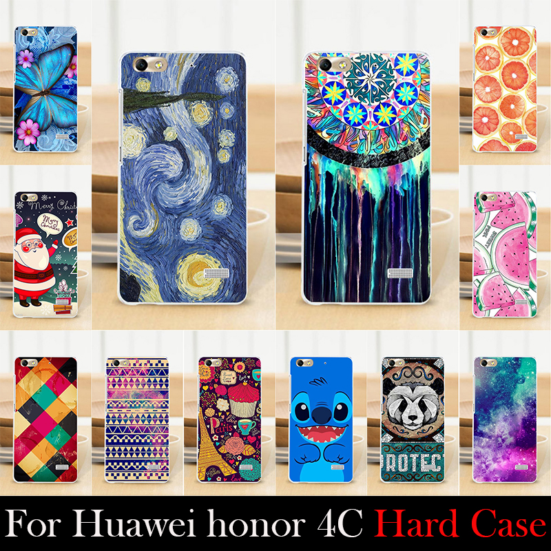 For Huawei honor 4C Case Hard Plastic Cellphone Mask Case Protective Cover Housing Skin Mask Shipping