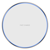 High quality universal quick cell phone charging 10W fast wireless qi charger Magnetic wireless charger for iphone X for S9