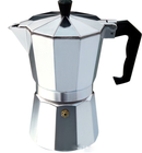 Clean Italian Design Moka Pot Coffee Maker- Stovetop Espresso Maker for Coffee