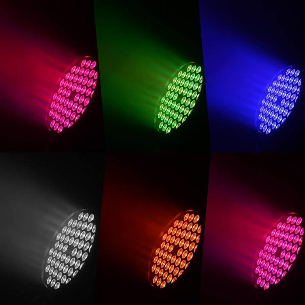 BETOPPER LED DJ Par Lights for Stage Lighting for party lighting LPC008S